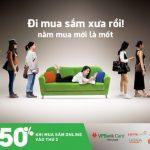 Ưu đãi đến 50% khi thanh toán online bằng thẻ tín dụng VPBank