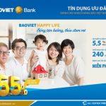 Happy life – 2.000 tỷ đồng tín dụng dành cho CBNV và khách hàng BaoViet Life