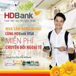 Thanh toán quốc tế không lo về phí cùng HDBank