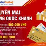 LienVietPostBank khuyến mại mừng Quốc Khánh khi mở thẻ tín dụng MasterCard
