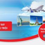 Hoàn tiền 30%, tới 2 triệu đồng khi mua vé máy bay Vietnam Airlines, Vietjet, Jetstar tại Gotadi với thẻ tín dụng du lịch Maritime Bank Visa
