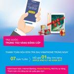 Trúng ngay iPad 2017 khi thanh toán cước VinaPhone qua OCB