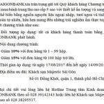 Chương trình ưu đãi dành tặng chủ thẻ SaigonBank khi mua bánh trung thu tại khách sạn Majestic Sài Gòn