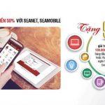 SeABank khuyến mại 50% giá trị nạp tiền và thanh toán hóa đơn