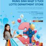 Sở hữu phiếu quà tặng đến 1 triệu đồng khi mua sắm tại Lotte dành cho khách hàng VietinBank
