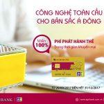 Thẻ tín dụng Agribank JCB - Công nghệ toàn cầu cho bản sắc Á Đông