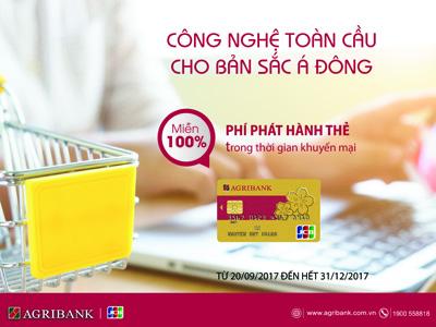 Thẻ tín dụng Agribank JCB – Công nghệ toàn cầu cho bản sắc Á Đông