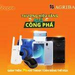 Giá công phá cùng thẻ Agribank Visa