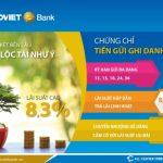 BaoViet Bank phát hành chứng chỉ tiền gửi ghi danh đợt 2 lãi suất lên đến 8,3%/năm