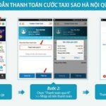 Đi Taxi, chi Ví Việt – Thanh toán cước Taxi Sao Hà Nội dễ dàng qua Ví Việt