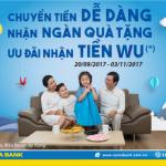 Ưu đãi hấp dẫn khi nhận kiều hối WU tại Nam A Bank