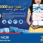 Mừng sinh nhật vàng 22 ngàn quà tặng từ NCB