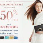 Offline private sale từ Robins.vn dành cho chủ thẻ Shinhan