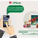 Trúng ngay iPad 2017 khi thanh toán cước Vinaphone qua VPBank