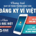 Đăng ký Ví Việt, nhận quà đến 500,000 VNĐ.