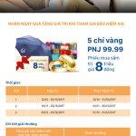 Nhanh tay để nhận ngay 5 chỉ vàng PNJ 9999 khi tham gia bảo hiểm AIA tại DongA Bank