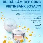 Ưu đãi làm đẹp cùng VietinBank Loyalty