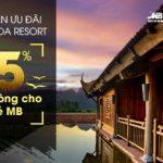MB dành đặc quyền ưu đãi cho chủ thẻ MB tại Emeralda Resort