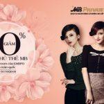 MB giảm 10% cho chủ thẻ MB tại showroom thời trang Emspo
