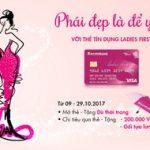 Phái đẹp là để yêu với thẻ tín dụng Ladies First