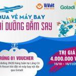 Ví Việt: Mua vé máy bay, trúng Voucher nghỉ dưỡng hàng tuần
