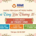 Ví Việt - Quà tặng yêu thương 20/10