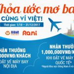 Ví Việt: Mua vé máy bay tất cả các chặng nội địa và quốc tế dễ dàng