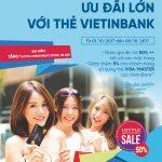 Ưu đãi khủng cho chủ thẻ VietinBank mua sắm tại Lotte