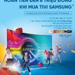 Hoàn tiền đến 6 triệu đồng cho chủ thẻ VietinBank khi mua tivi Samsung