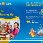 Gửi tiền nhận vàng - Hàng ngàn quà tặng cùng BaoViet Bank