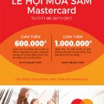 Lễ hội mua sắm MasterCard cùng Eximbank
