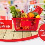 Hoàn tiền 20% với thẻ đồng thương hiệu Lotte Mart – Maritime Bank