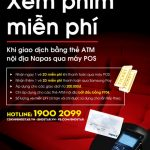 Xem phim miễn phí với thẻ ATM nội địa của Eximbank