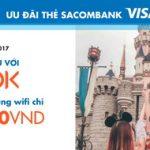 Wifi chỉ 22.000 VNĐ khi du lịch châu Á với Klook cho chủ thẻ Sacombank Visa