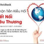 SeABank tặng 9.000 phần quà cho Khách hàng kiều hối