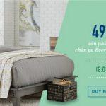Sale khủng tại Everon - Ưu đãi đến 49% duy nhất 24/11/2017 dành cho khách hàng Shinhan Bank