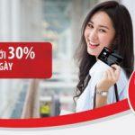 Giảm tới 30% cho thẻ Maritime Bank chỉ trong 7 ngày
