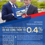 VietABank tăng lãi suất thêm 0.4% tri ân Khách hàng doanh nghiệp