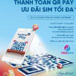 Thanh toán QR Pay nhận sim VinaPhone cùng nhiều ưu đãi từ VietinBank