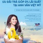 Miễn lãi trả góp tại Trung tâm Anh Văn Hội Việt Mỹ dành cho khách hàng Vietinbank