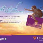 Giảm giá 15% khi đặt vé máy bay Vietnam Airlines bằng thẻ TPBank ATM eCounter