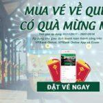 Đặt vé tàu Tết với VPBank Online - trúng 5 triệu tặng mẹ