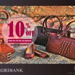 Đại tiệc hàng hiệu dành cho chủ thẻ của Agribank