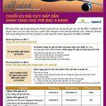 Bac A Bank kết hợp với Vietnam Airlines khuyến mãi cho chủ thẻ ATM