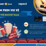 Xem phim vui vẻ với thẻ BaoViet Bank