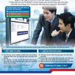 Nhanh chóng hoàn thành thủ tục thanh toán chi phí lựa chọn nhà thầu qua mạng với BIDV
