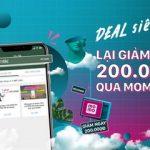 Liên kết tài khoản BIDV và ví Momo để nhận ngay 200.000đ và mua sắm thỏa thích tại Tiki.vn