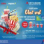 Chương trình khuyến mại Cuối tuần vui vẻ với thẻ Advance VietABank