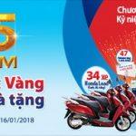 Ngân hàng Bản Việt triển khai chương trình khuyến mãi lớn nhất trong năm mừng sinh nhật thứ 25