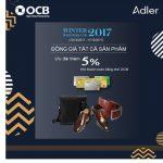 Đến lễ hội Winter Wonderland để nhận ưu đãi từ Adler khi thanh toán bằng thẻ OCB